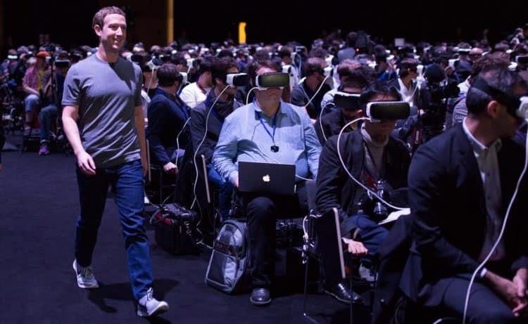 Facebook, entreprises créatrices de technologies VR