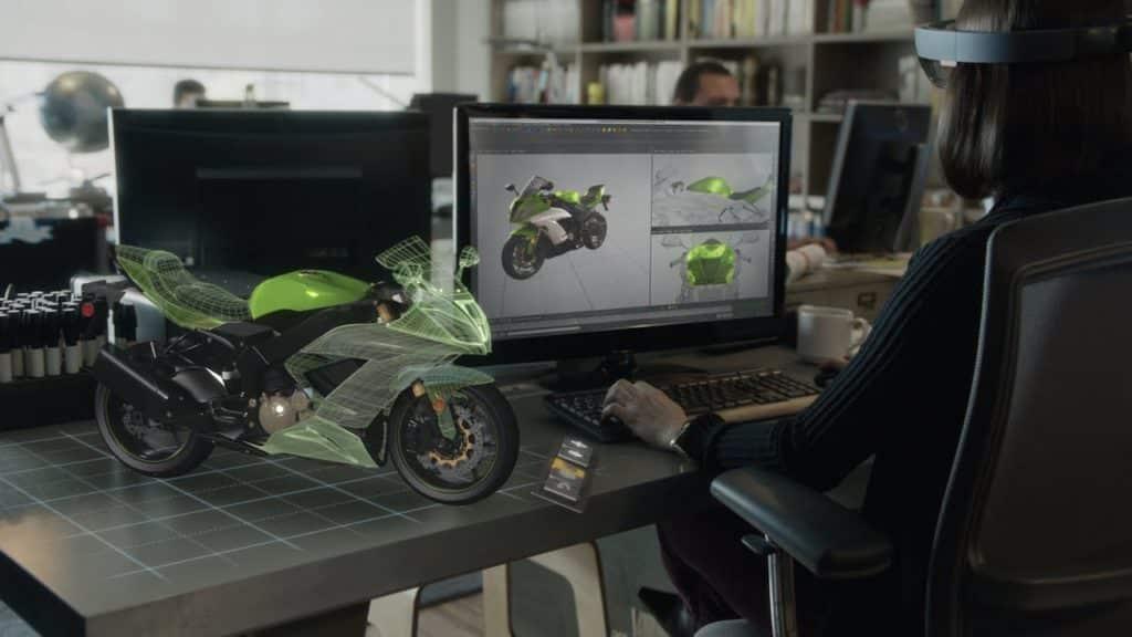 casque VR hololens 5