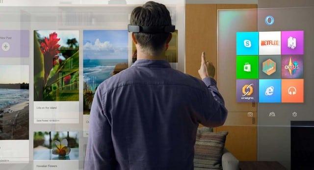 Microsoft, entreprises créatrices de technologies VR