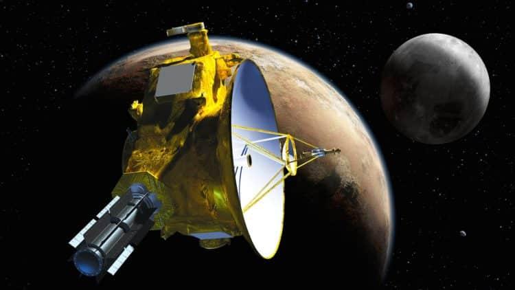 Pluton New Horizons