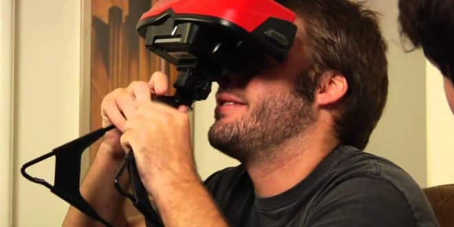 Virtual Boy réalité virtuelle