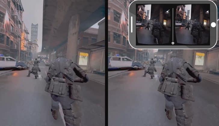 Application Vridge faisant tourner des jeux PC sur smartphones en VR