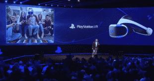 PS VR vente casque Sony HTC oCULUS