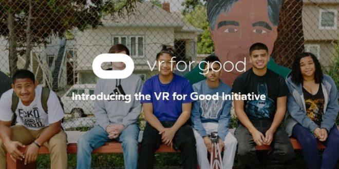 Avec VR for Good, Oculus veut aider les étudiants et les associations non lucratives
