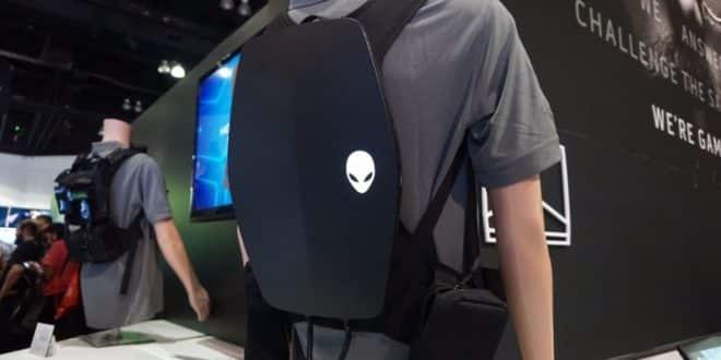 sac à dos VR Ready de Alienware