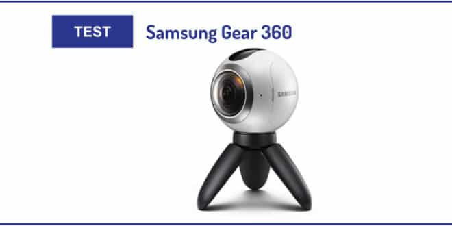 Test Samsung Gear 360