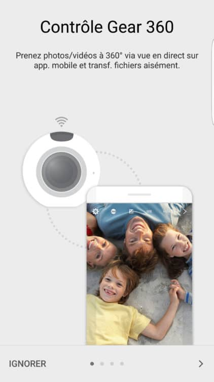 Application Samsung Gear 360