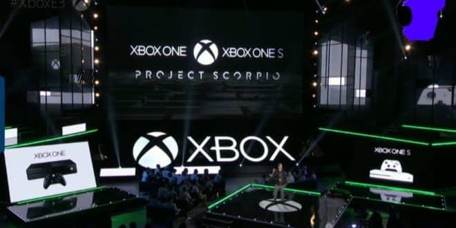 Project Scorpio la XBox One dédiée à la VR