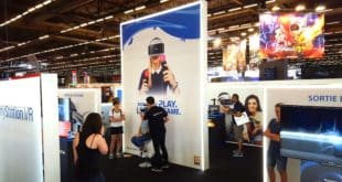 Stand Playstation VR Japan Expo