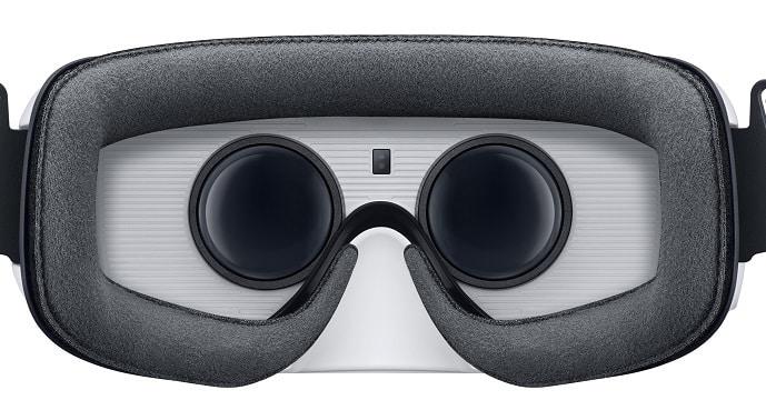 Les lentilles du Samsung Gear VR ont un centre optique