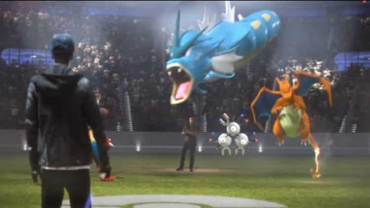 Pokemon go Combats prom