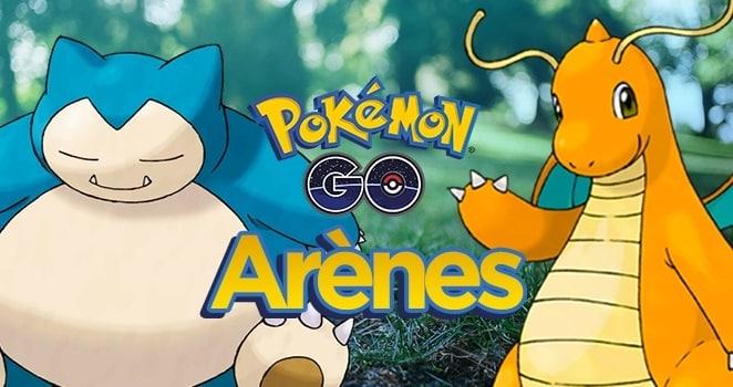 Les Arènes de Pokémon Go