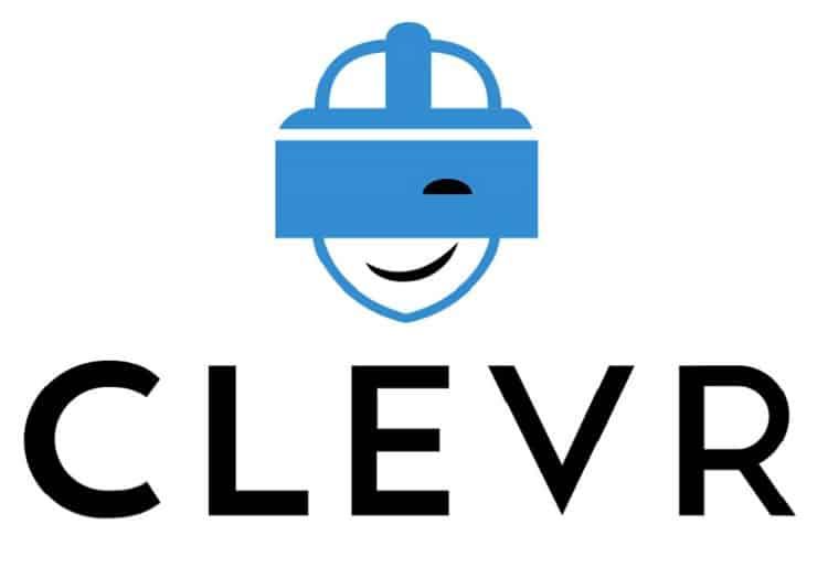 Logo de CLEVR une des entreprises soutenu par Vive X