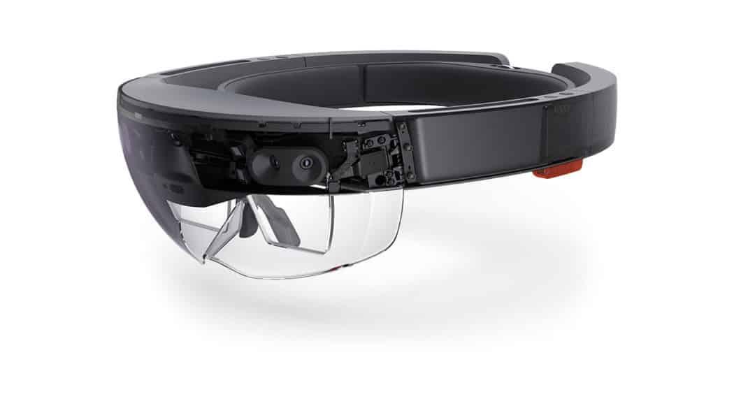 casque de réalite augmentée HoloLens