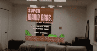 Hololens Microsoft Mario