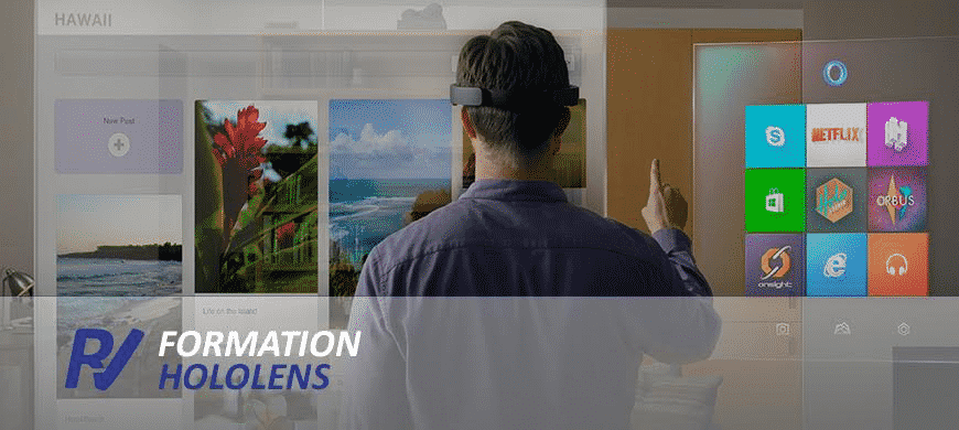 formation microsoft hololens
