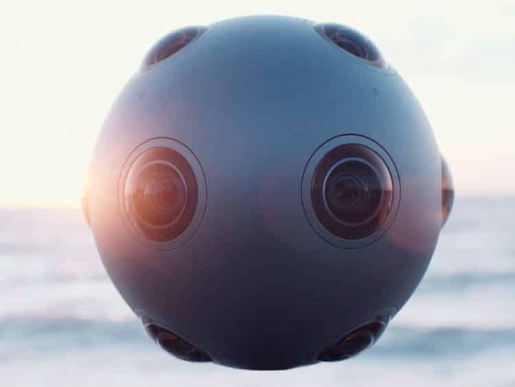 camera ozo VR