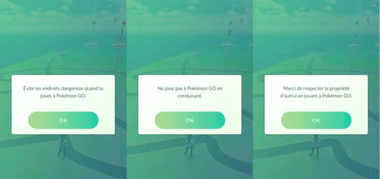 Pokémon Go securité