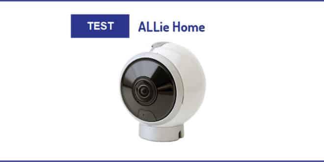 test allie home la cam ra de surveillance 360. Black Bedroom Furniture Sets. Home Design Ideas
