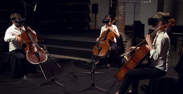 Collide une composition musicale en réalité virtuelle