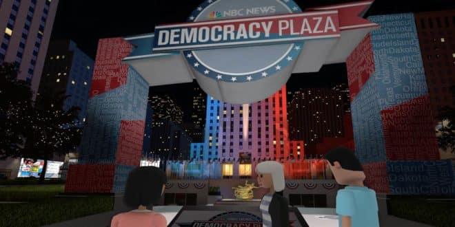 Democracy Plaza un forum politique en réalité virtuelle