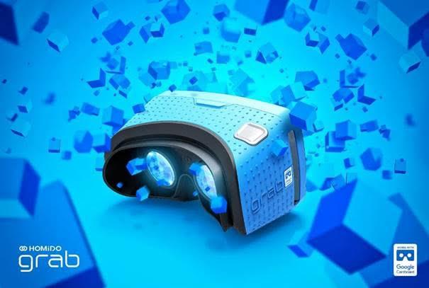 Le Homido Grab en version bleue