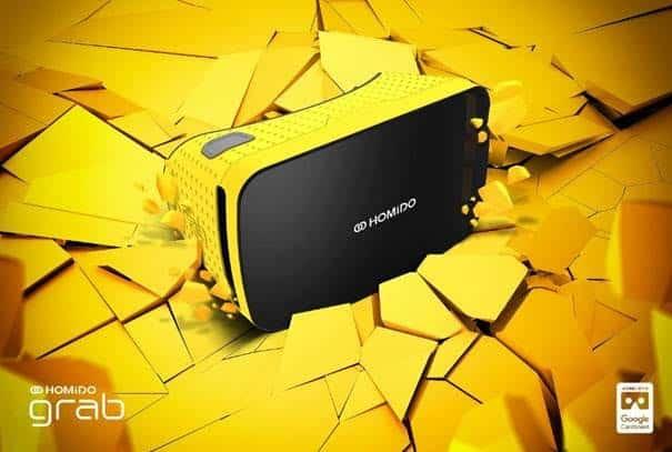 Le Homido Grab en version jaune