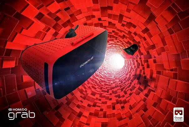 Le Homido Grab en version rouge