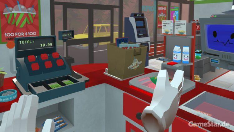 Job Simulator-caissier-oculus-htc