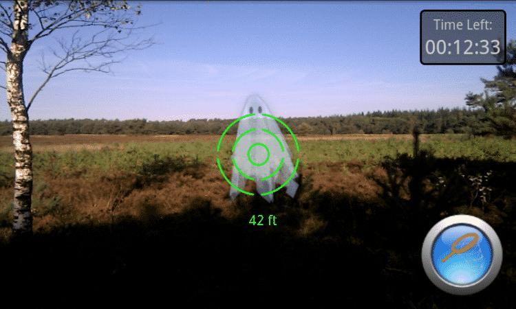realité augmentée-spectrek-pokemon go-like