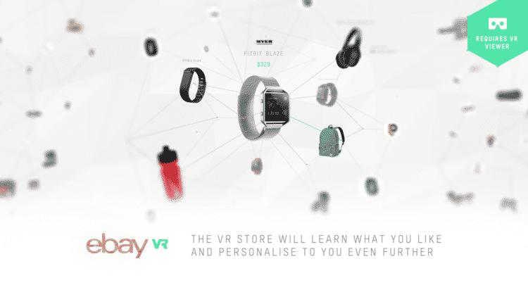 Ebay VR magasin commerce en ligne