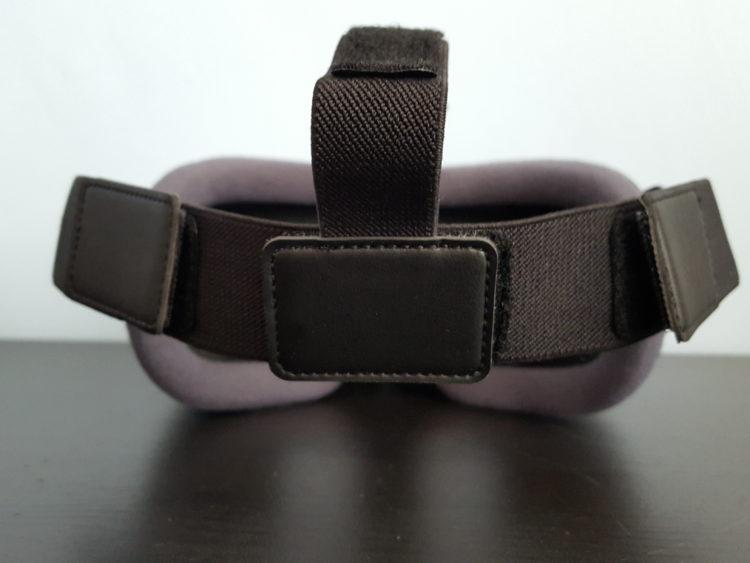Samsung New Gear VR Test Design noir lanieres confort casque 2016 v2