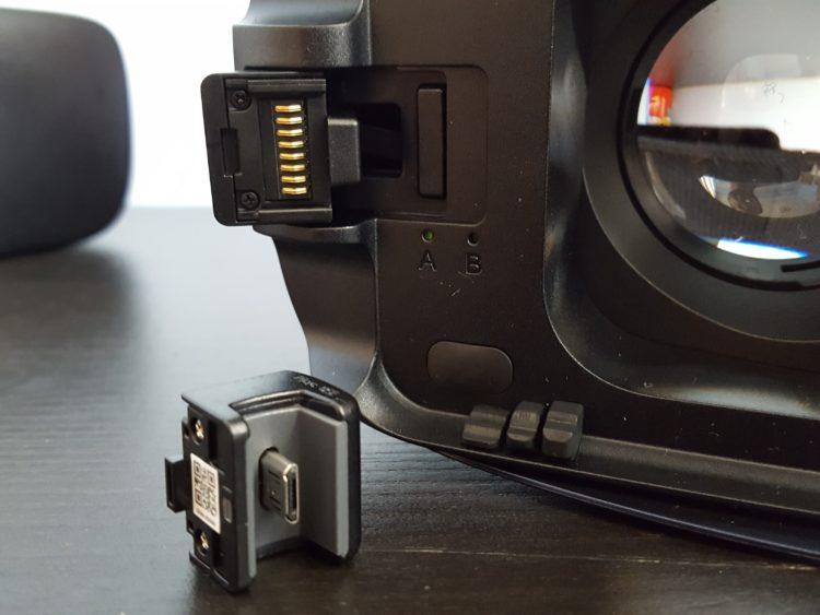 Samsung New Gear VR Test Design noir installation USB Type-C noire 2016 v2 casque