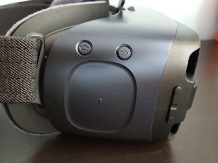 Samsung New Gear VR Test Design noir utilisation pave tactile home 2016 v2 casque