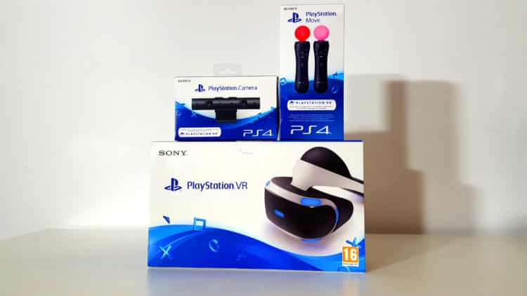 PlayStation VR PS VR Test Unboxing Photos Avis