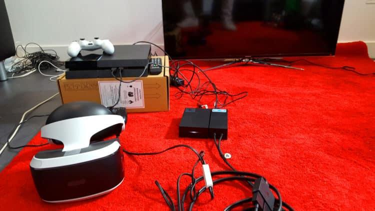PlayStation VR PS VR Test Unboxing Photos Avis design