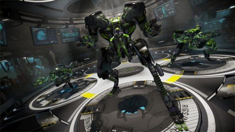 Rigs Mechanized Combat League Jeu Jeux PS VR Playstation VR Test FPS Avis Note Acheter