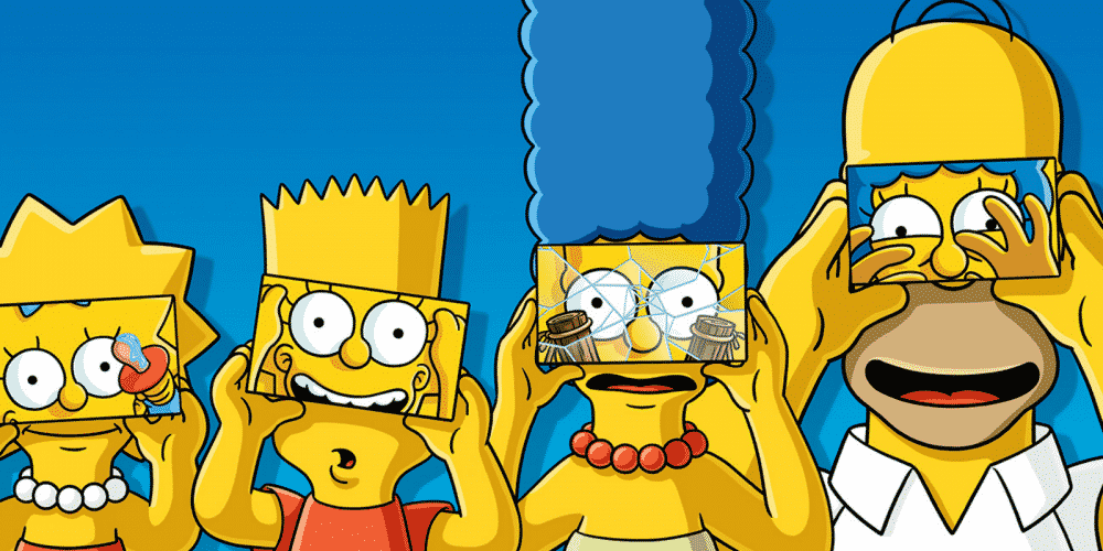Fox f te la 600 me des simpsons en r alit virtuelle - Les simspon tv ...