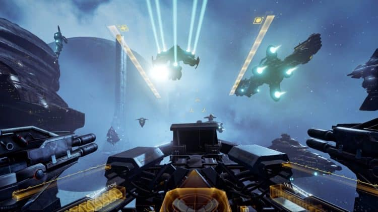 EVE Valkyrie, Playstation VR, Playstation 4, Star Wars, Oculus, EVE Online, CCP Games, Test, Review