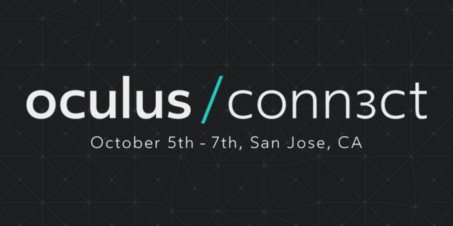 La conférence Oculus Connect 3 aura lieu du 5 au 7 octobre 2016
