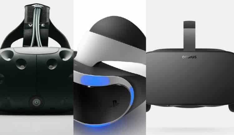 oculus-htc vive-playstation vr-étude-business-réalité virtuelle