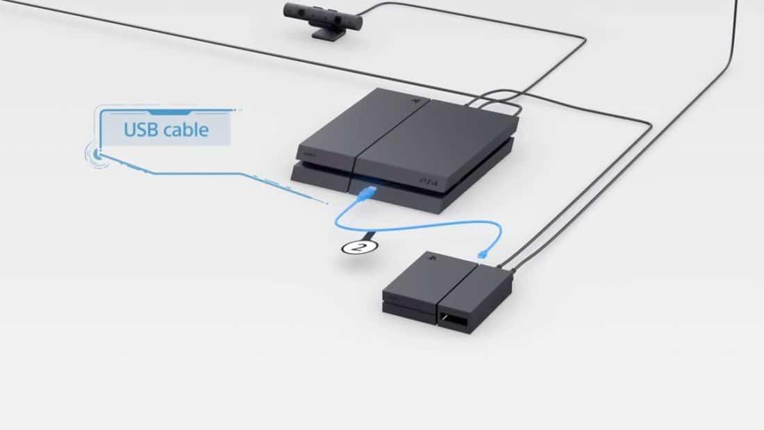 psvr cable usb erreur