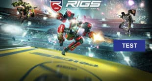 Rigs Mechanized Combat League Jeu Jeux PS VR Playstation VR Test FPS Avis Note Acheter