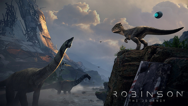 Robinson Journey PS VR PlayStation VR PS4 sortie annonce avis