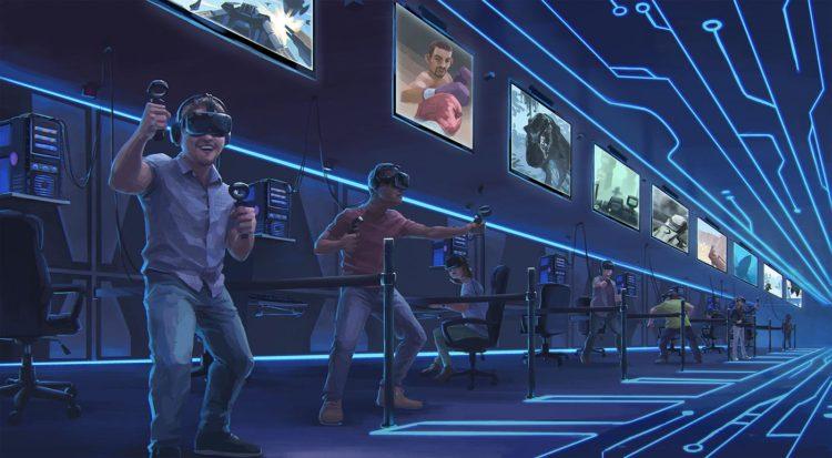 Htc vive viveport programme arcade salle salles date lieux france tester