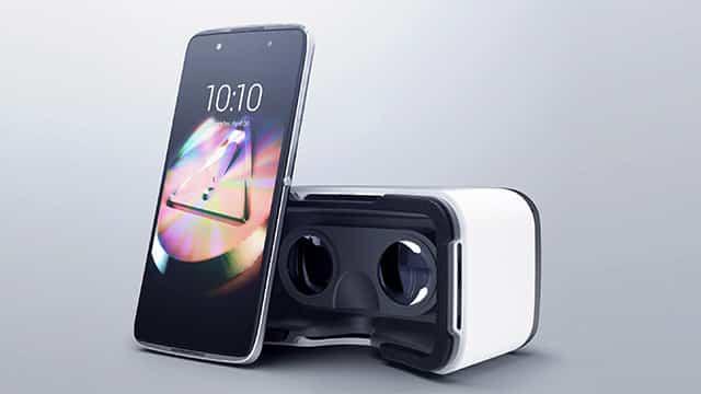 Microsoft Windows Phone VR Ready Alcatel Idol 4S Casque prix date interface