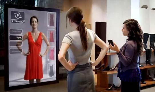 réalité augmentée - shopping - e-commerce