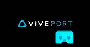 Viveport HTC Vive plateforme interface mobile videos jeux VR android