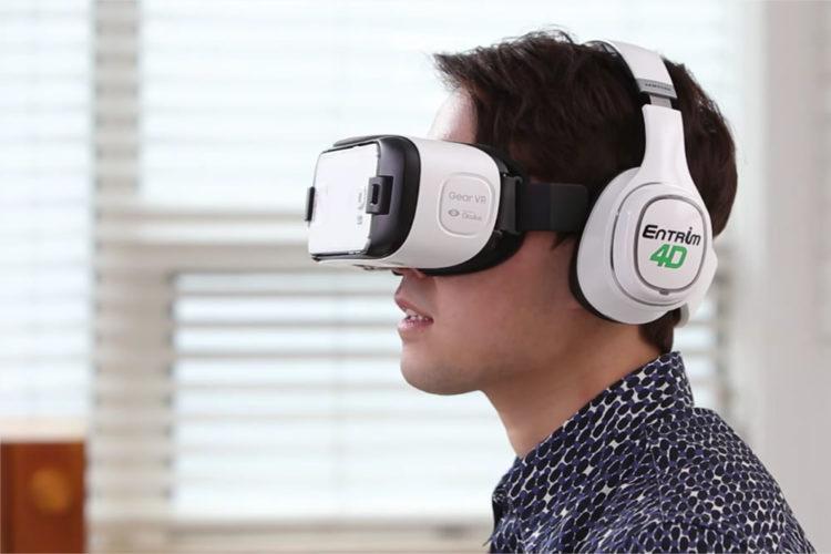 Casque mouvements realite virtuelle