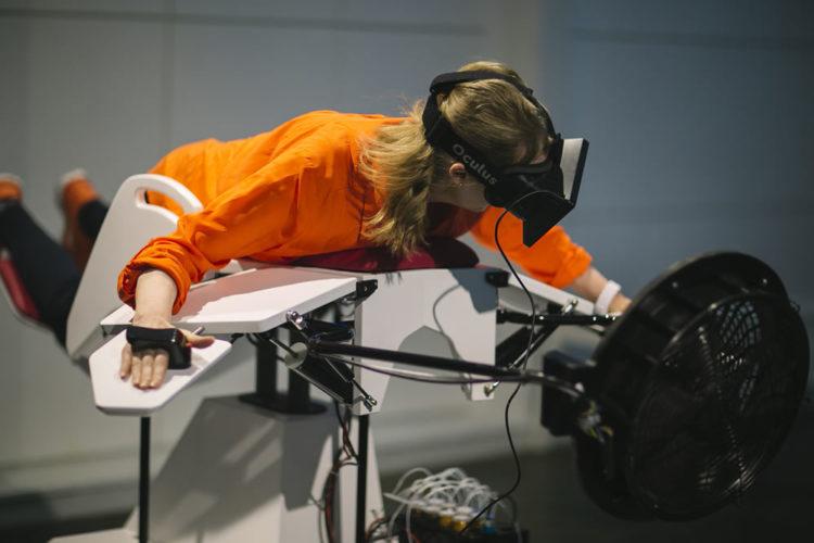Une salle novatrice entièrement dédiée à la réalité virtuelle — Paris